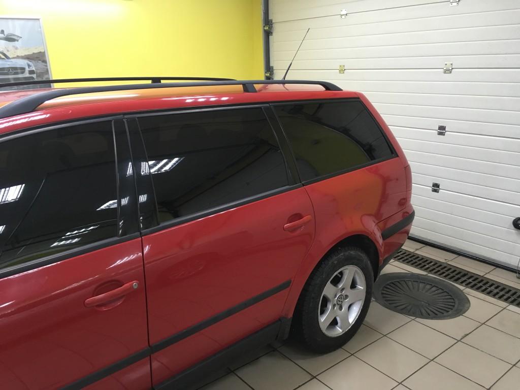 Тонировка авто VW Passat