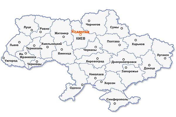 Карта КарСтар