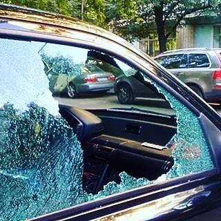 Бронирование стекла авто