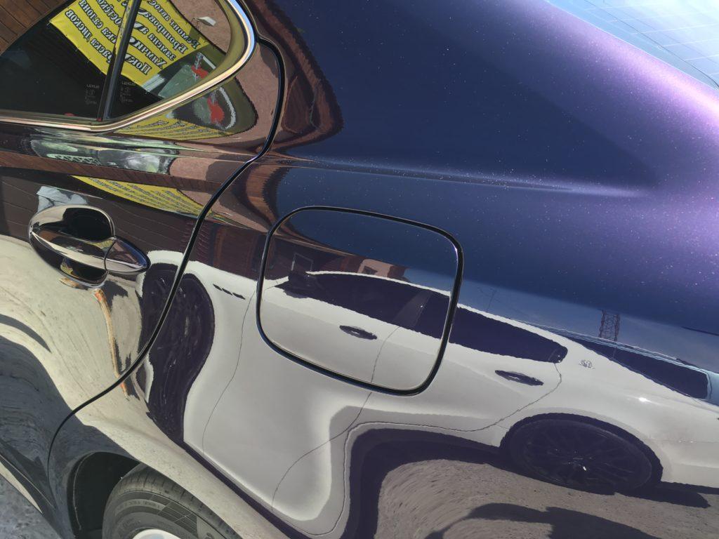 Полировка авто Lexus
