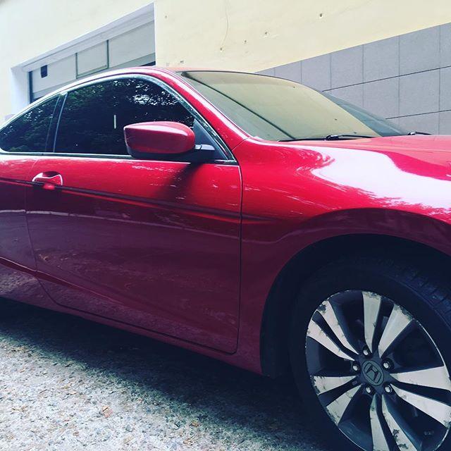 Тонировка авто Honda Accord