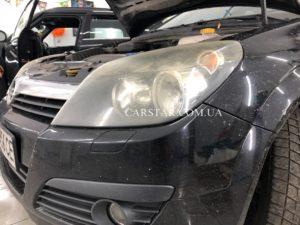 Полировка фар Opel Vectra