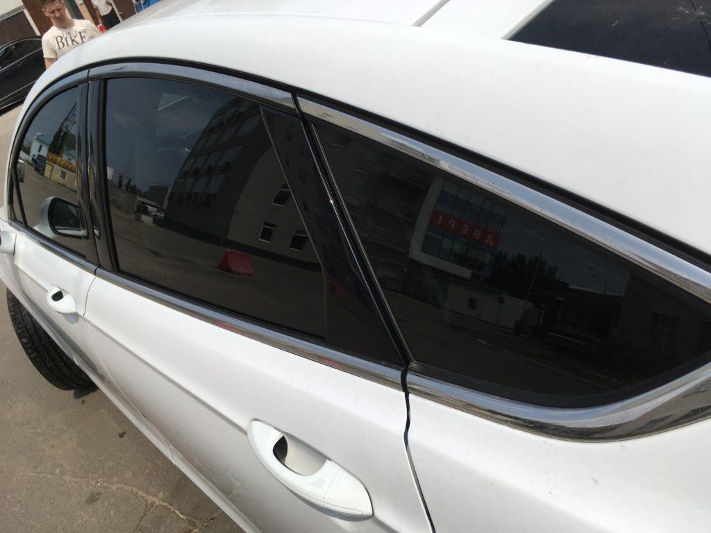 Тонировка задних стекол авто