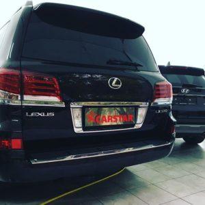 Оклейка антигравийной пленкой Lexus Lx