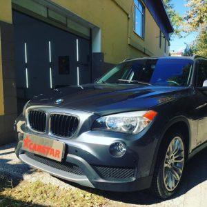 Защитная пленка на авто BMW X1