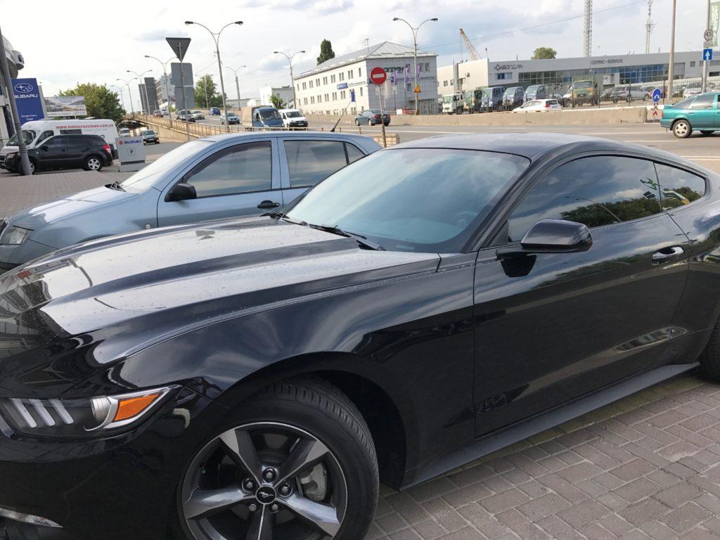 Тонировка авто Ford Mustang