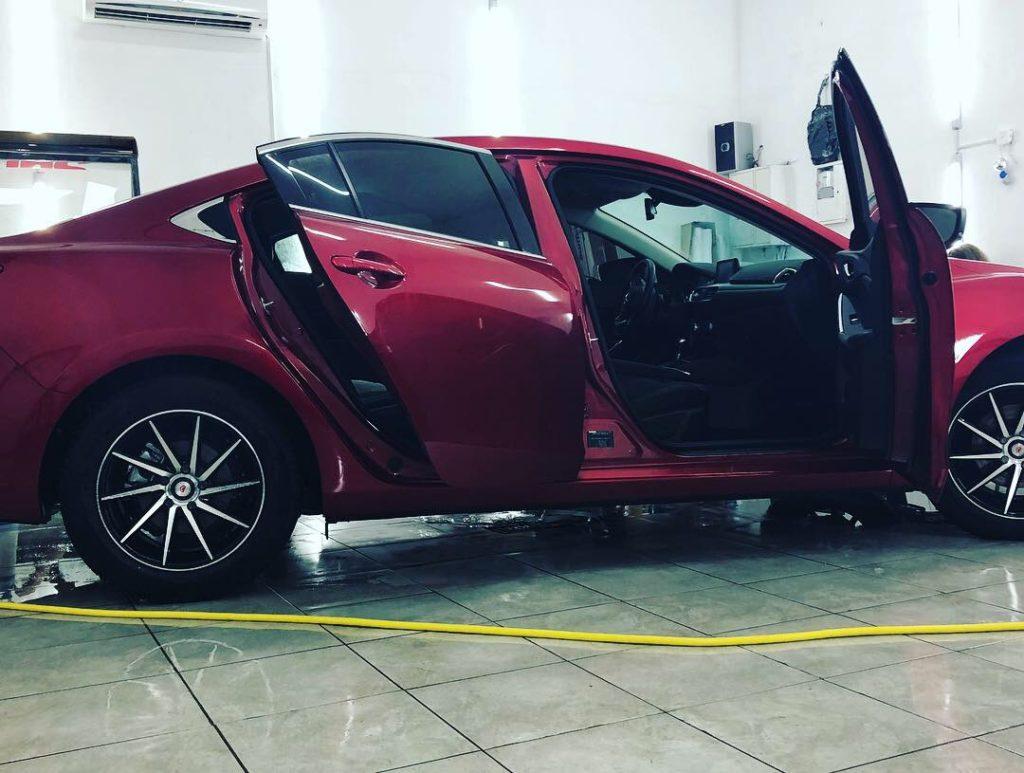 Тонировка авто Mazda 6
