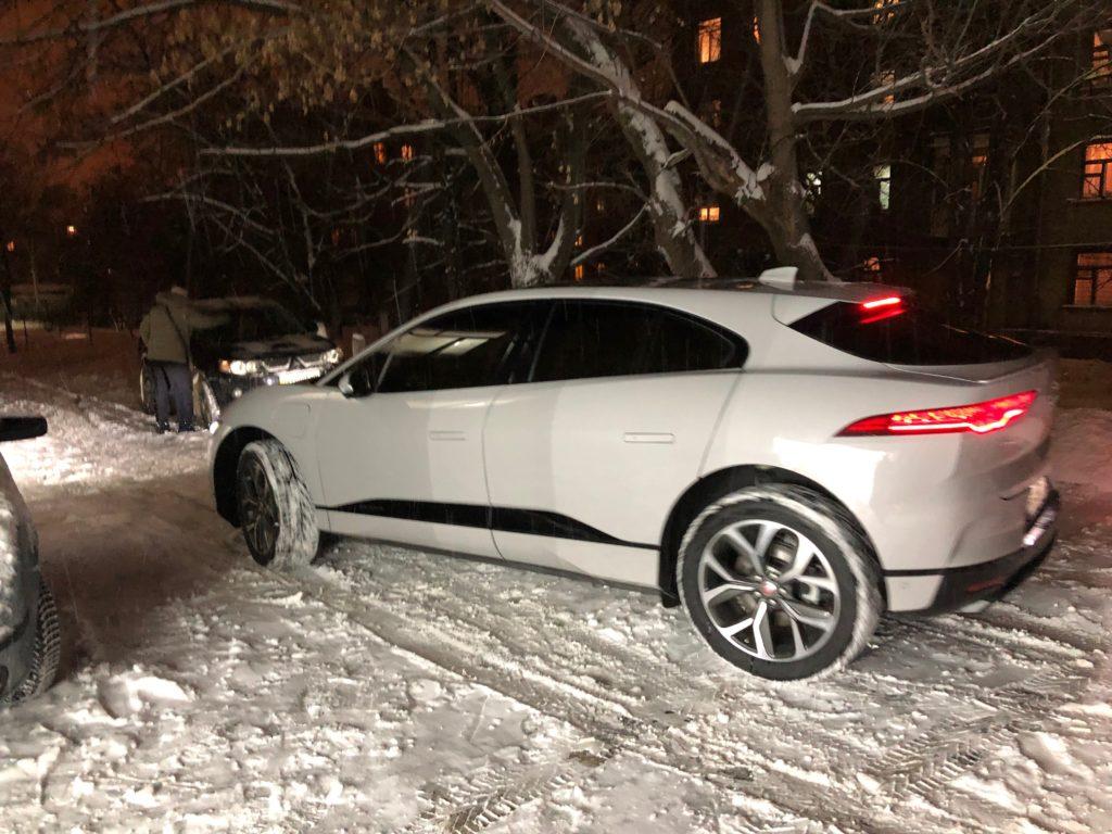Тонирование авто Jaguar I-Pace