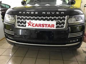 Оклейка антигравийной пленкой Range Rover
