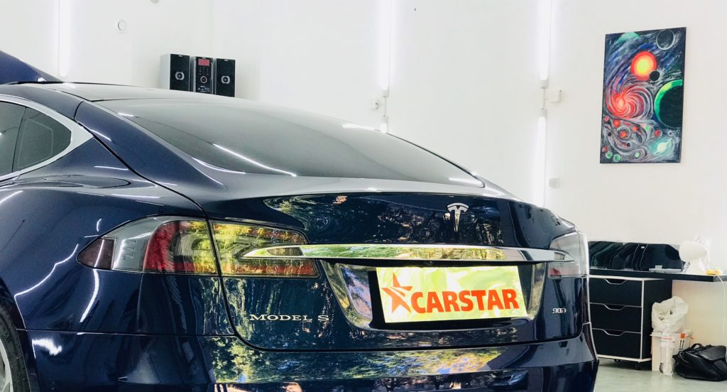 Антигравийная пленка Tesla S