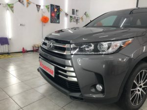 Атермальная тонировка Toyota Highlander