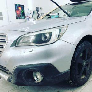 Ремонт лобового стекла на Subaru