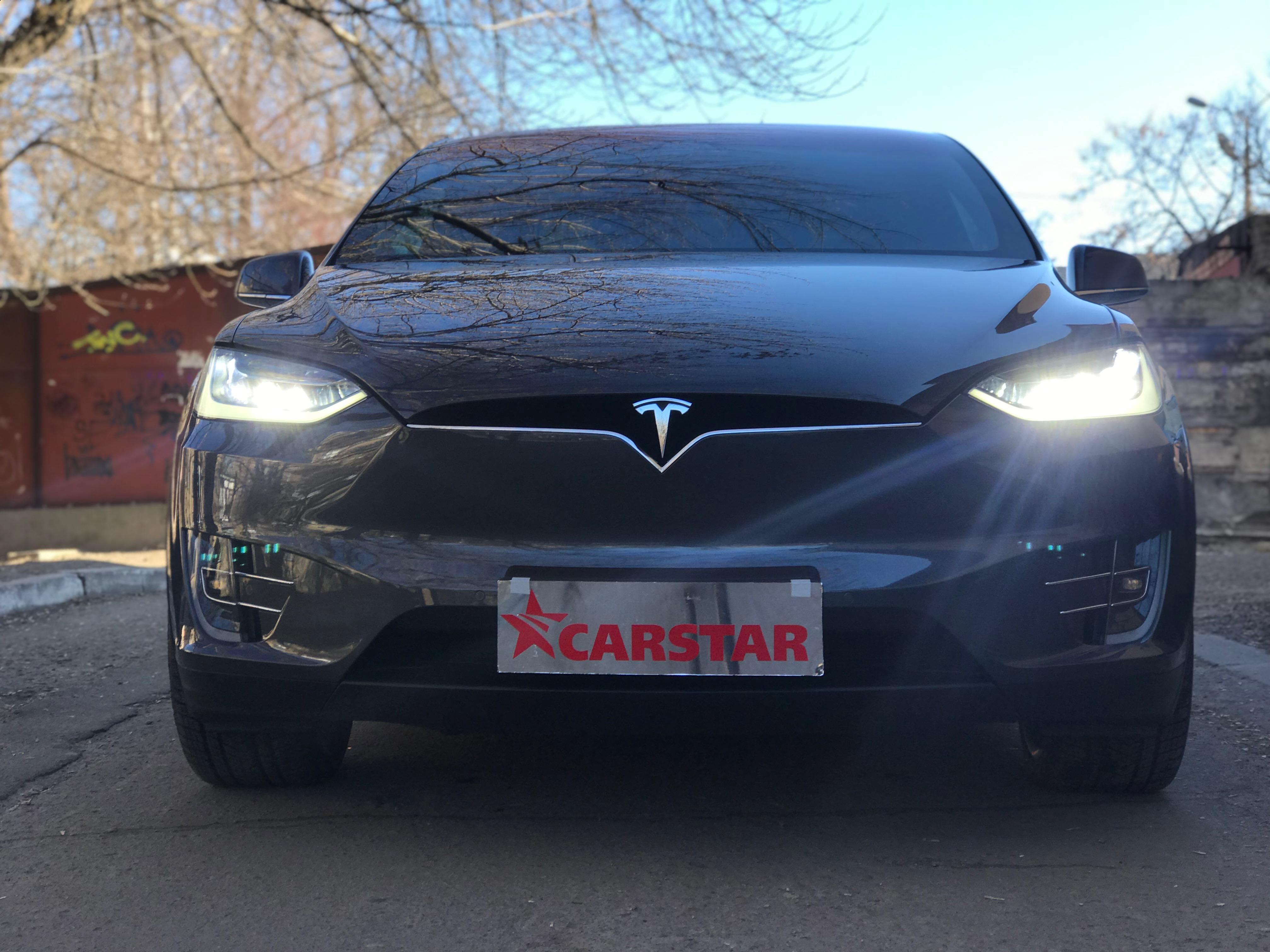 Атермальная тонировка Tesla X