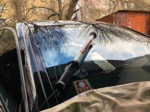 Ремонт лобового стекла на Mercedes S