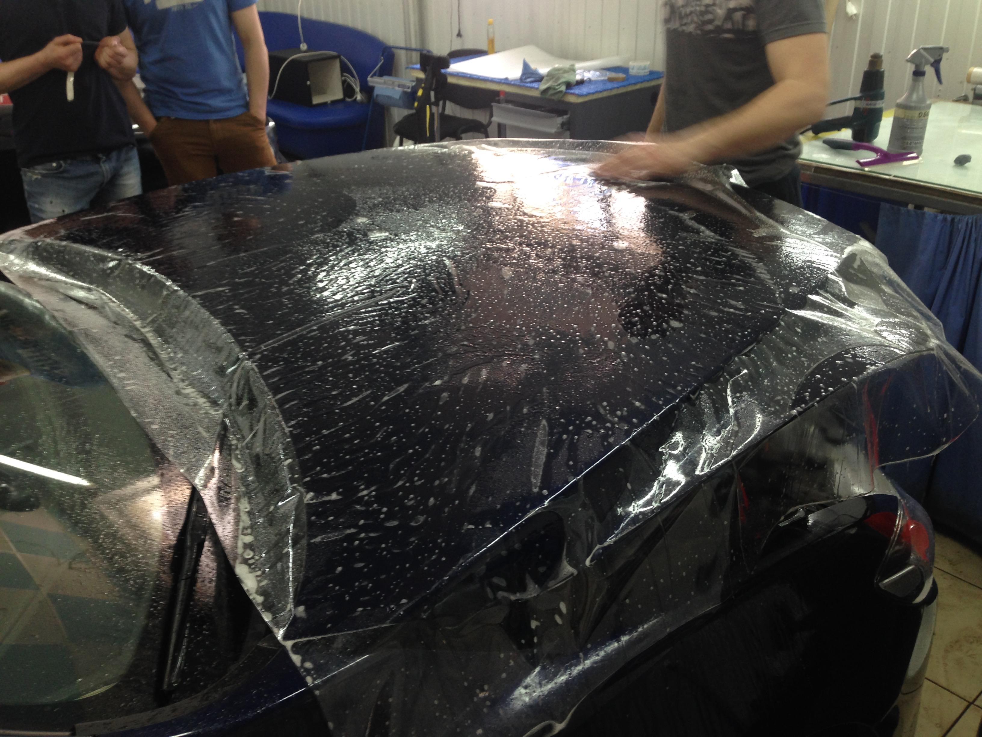 Mazda 6 Антигравийная защитная пленка