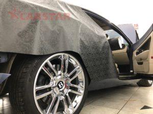 Оклейка Bentley пленкой 3М