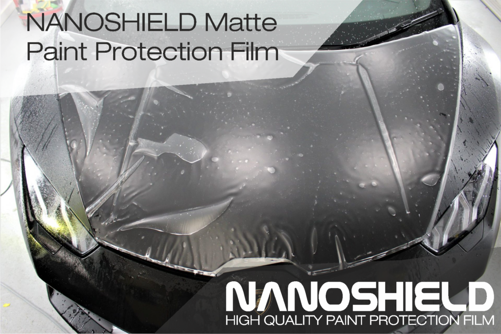 Nanoshield matte paint protection film