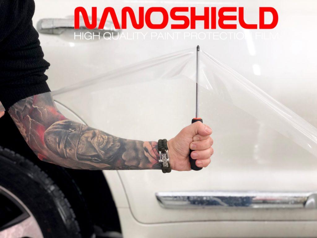 Антигравийная пленка NanoShield